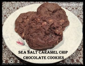 Hershey S Kitchens Sea Salt Caramel Chip Chocolate Cookies